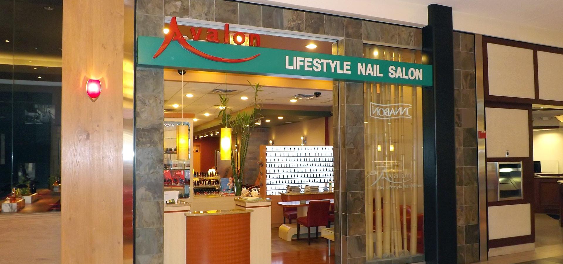 Avalon lifestyle nail salon spa near me in dulles va dulles town center for Nail salon winter garden village