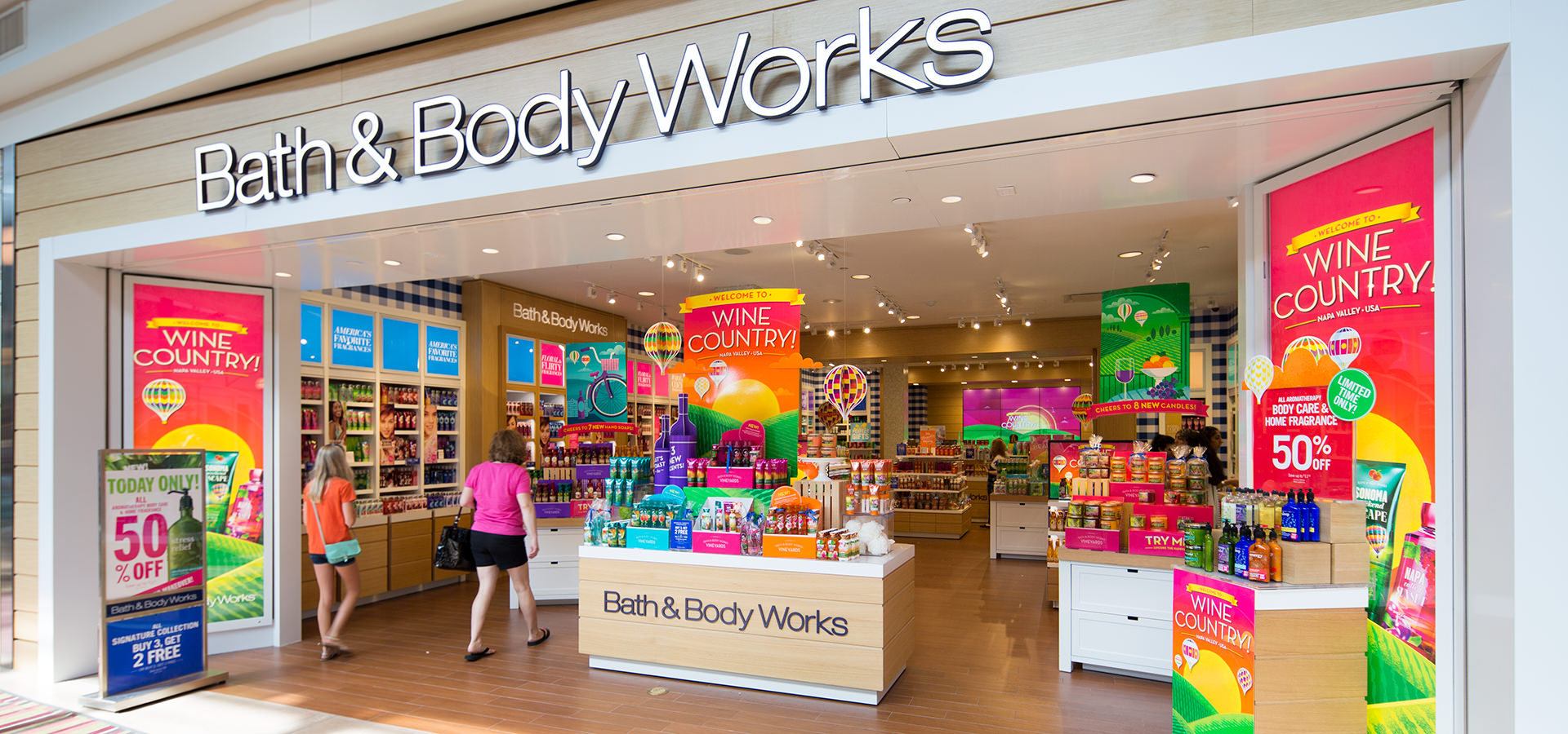 You probably know Bath & Body Works by its irresistible scents in a range of products – from holiday-themed mini-bottles of hand sanitizer for kids to aromatherapy lotions and bath products that promote sleep, reduce stress, and more. The company has made personal care into a luxury that's also fun to use.