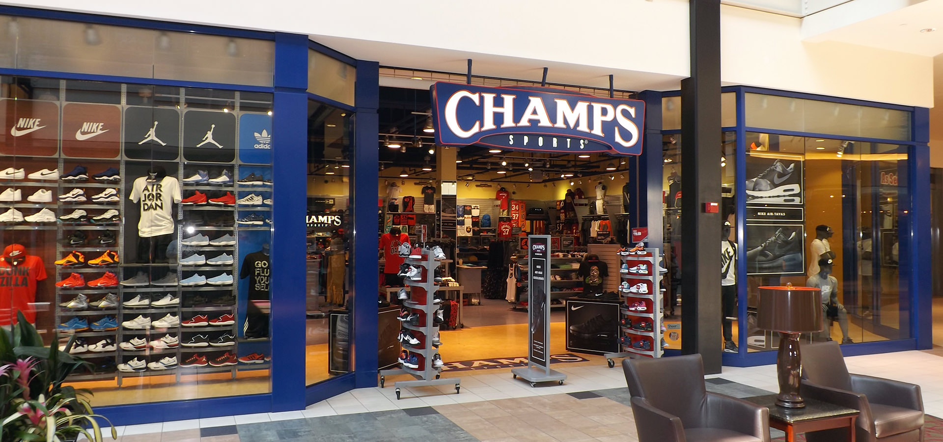 sports apparel stores