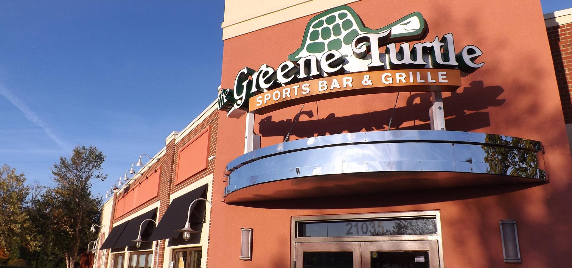 Green turtle sports bar