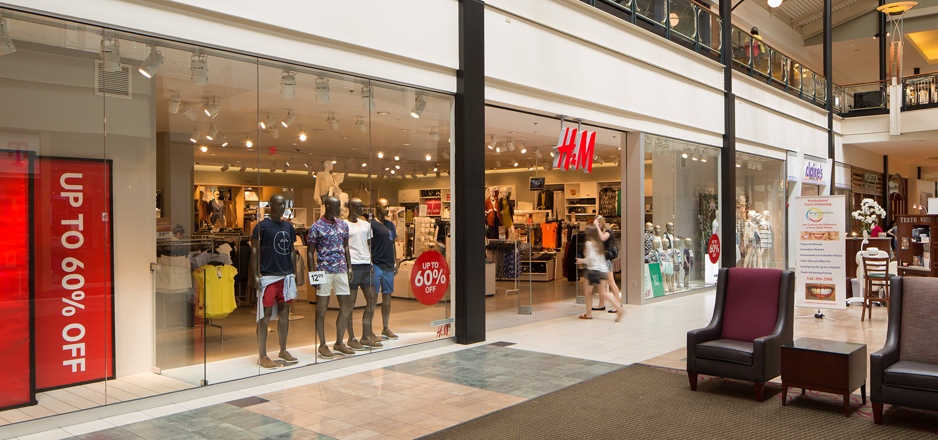H&M Near Me In Dulles, VA | Dulles Town Center Dulles Town Center Map on