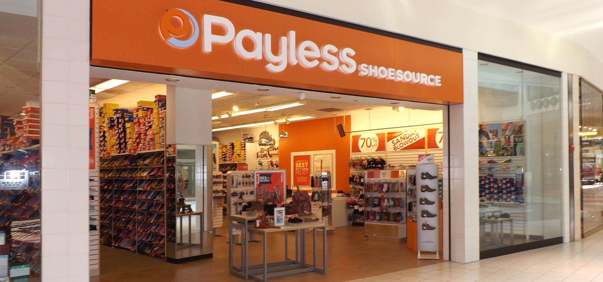 Payless Shoe Store Closim