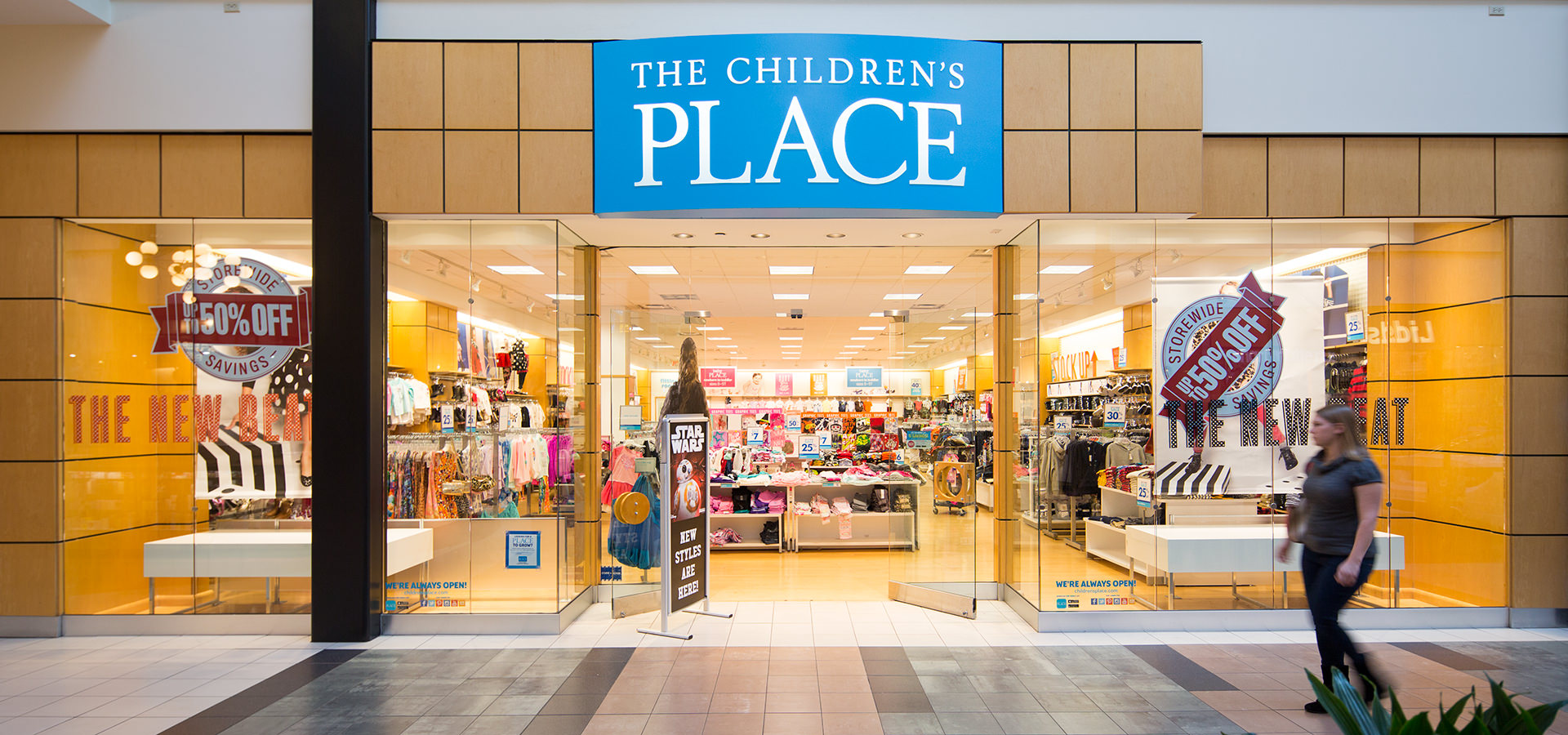 The Children's Place is an online retail store that offers every type of clothing for children or kids. You can find clothing for all seasons and for all ages ranging from newborn to youth sizes.