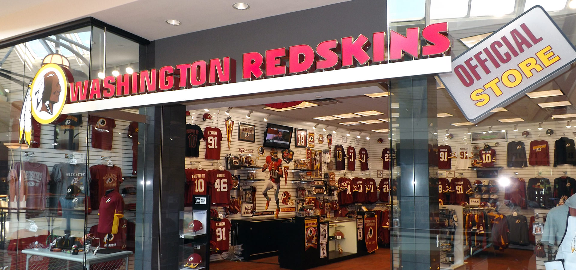 Washington Redskins Official Store Near Me In Dulles 7208d14e2a53